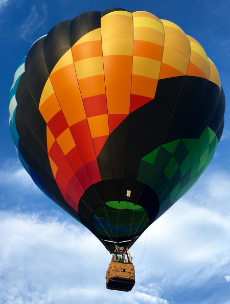 USA Today 10 Best hot air balloon rides 2020 - we are #4!