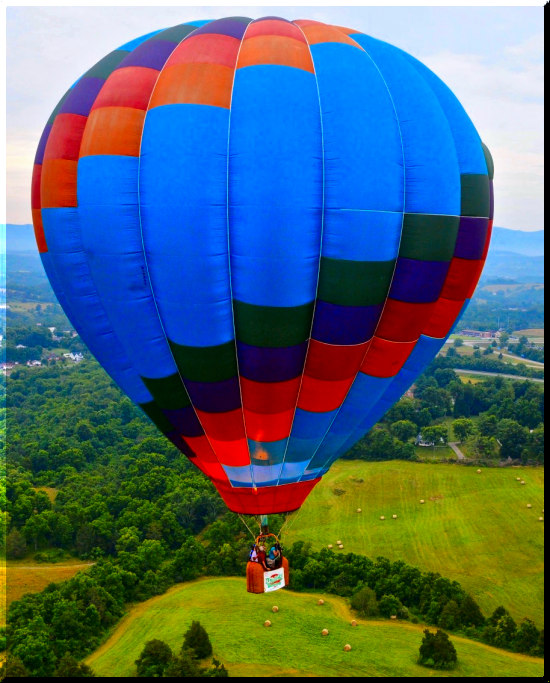 Our most memorable moment is just having the opportunity to share our love of ballooning with each new passenger.